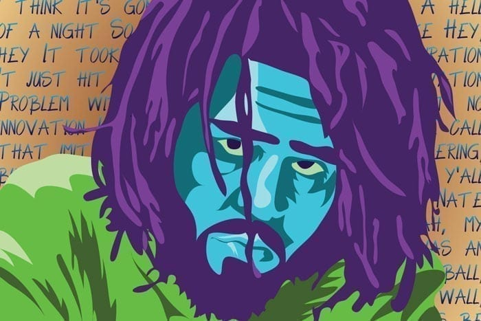 J.Cole Poster