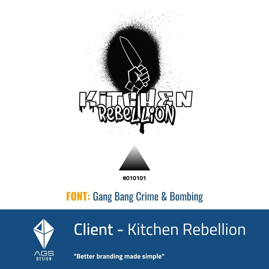 Kitchen Rebellion Brand Identity