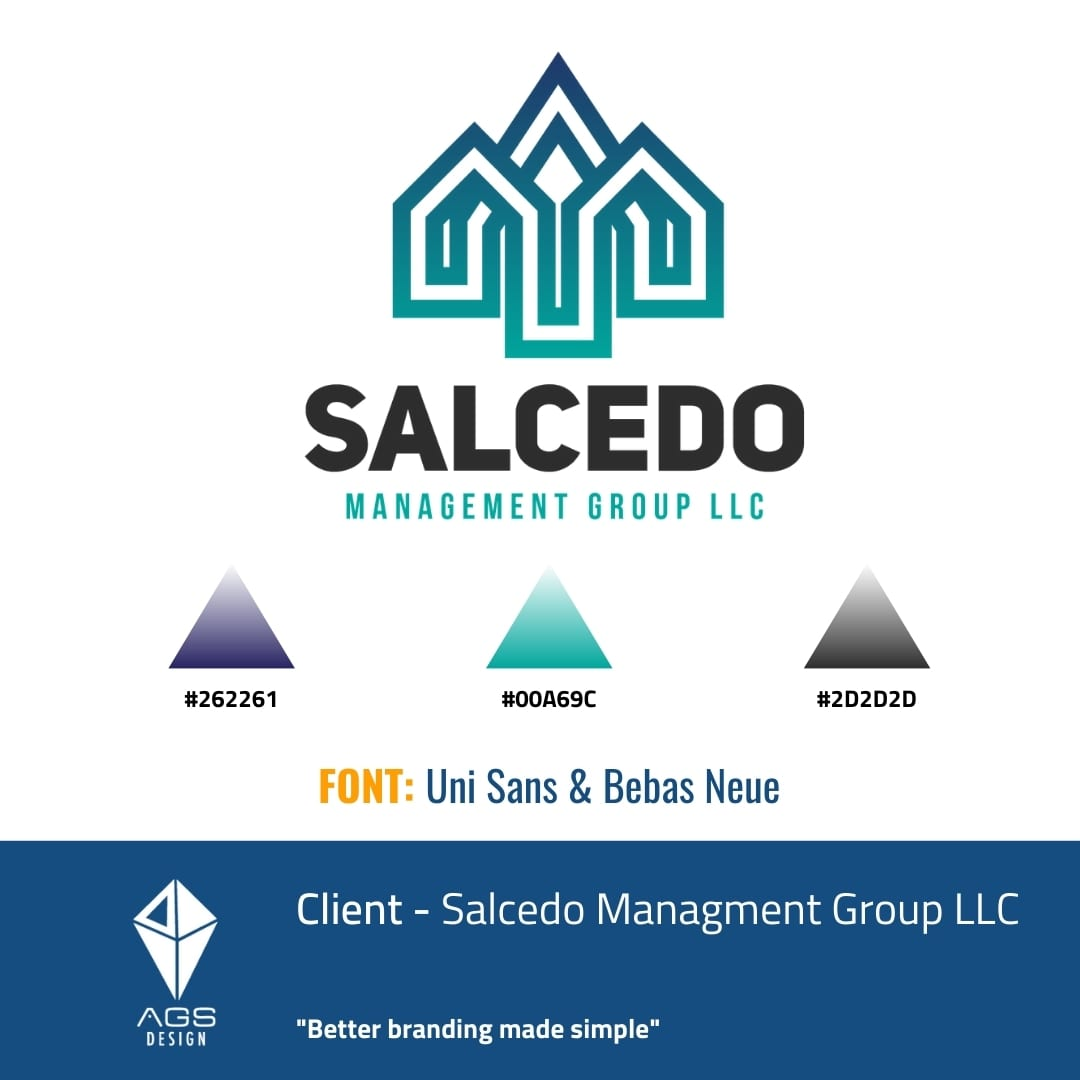 Salcedo Management Group LLC Brand Identity